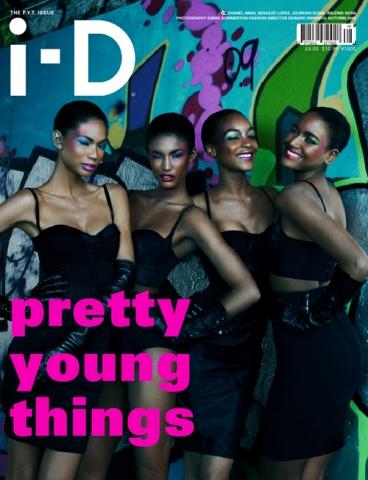 i-D Magazine Pre-Fall 2009 Cover